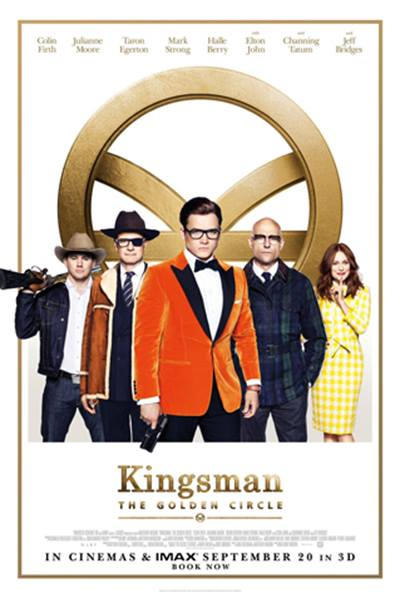 (V.O.) KINGSMAN: THE GOLDEN CIRCLE