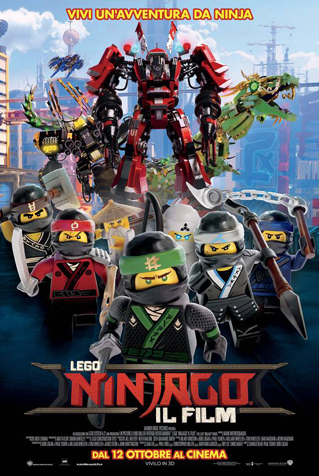 (3D) LEGO NINJAGO - IL FILM