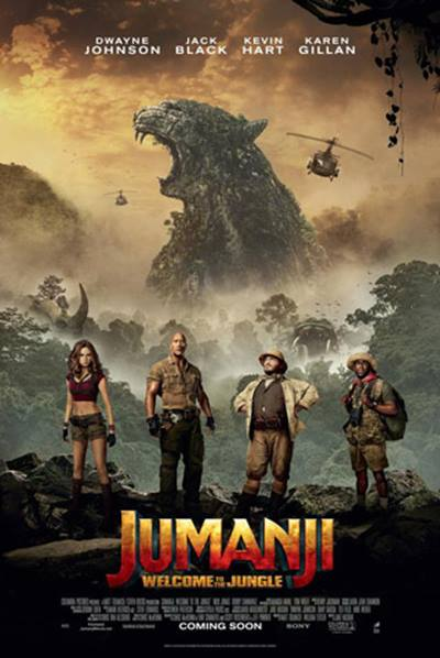 (V.O.) JUMANJI: WELCOME TO THE JUNGLE