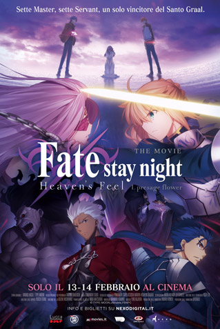 FATE STAY NIGHT: HEAVEN'S FEEL. I. PRESAGE FLOWER