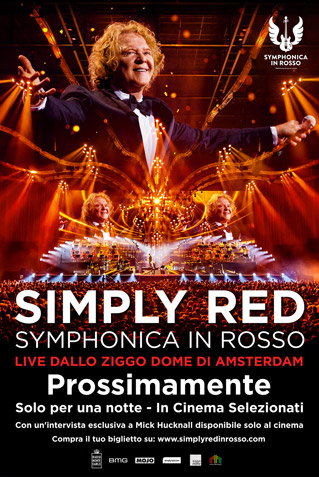SIMPLY RED SYMPHONICA IN ROSSO