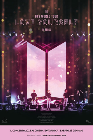 BTS WORLD TOUR - LOVE YOURSELF IN SEOUL