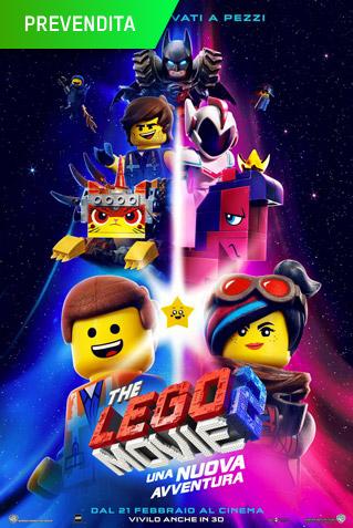 (3D) LEGO MOVIE 2 : UNA NUOVA AVVENTURA