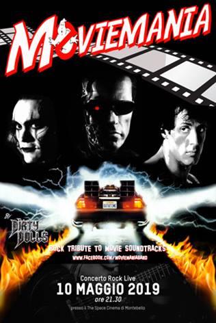 MOVIEMANIA: TRIBUTO ROCK LIVE ALLE PIU' BELLE COLONNE SONORE DEI FILM!