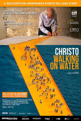 CHRISTO-WALKING ON WATER