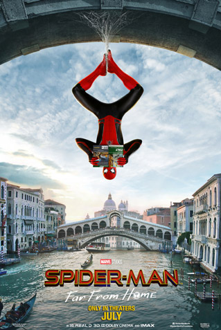 (V.O.) SPIDER-MAN: FAR FROM HOME