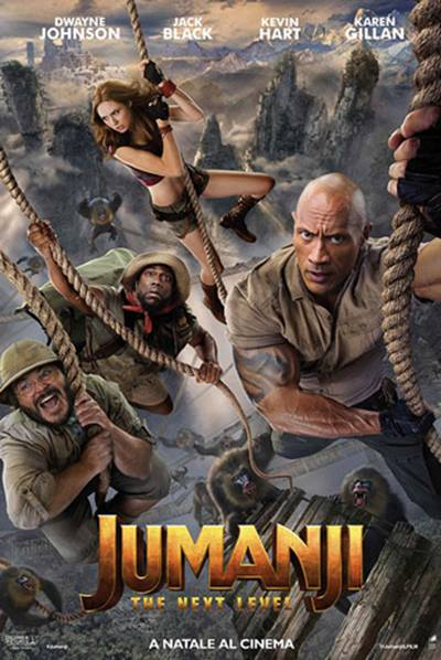 JUMANJI  - NEXT LEVEL