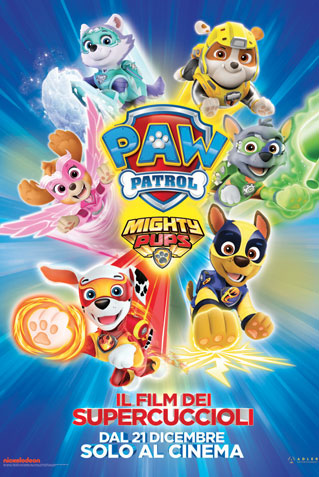 MIGHTY PUPS PAW PATROL