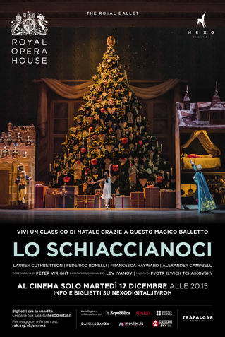 LO SCHIACCIANOCI - ROYAL BALLET 2019/20