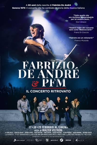 FABRIZIO DE ANDRÈ E PFM - IL CONCERTO RITROVATO