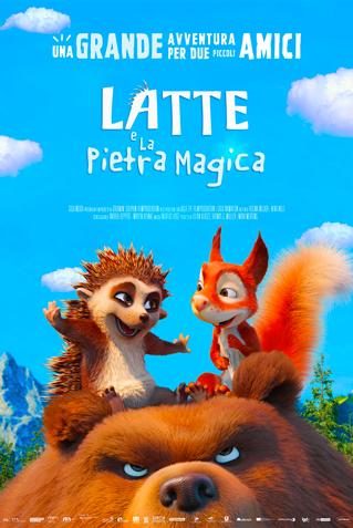 LATTE E LA PIETRA MAGICA